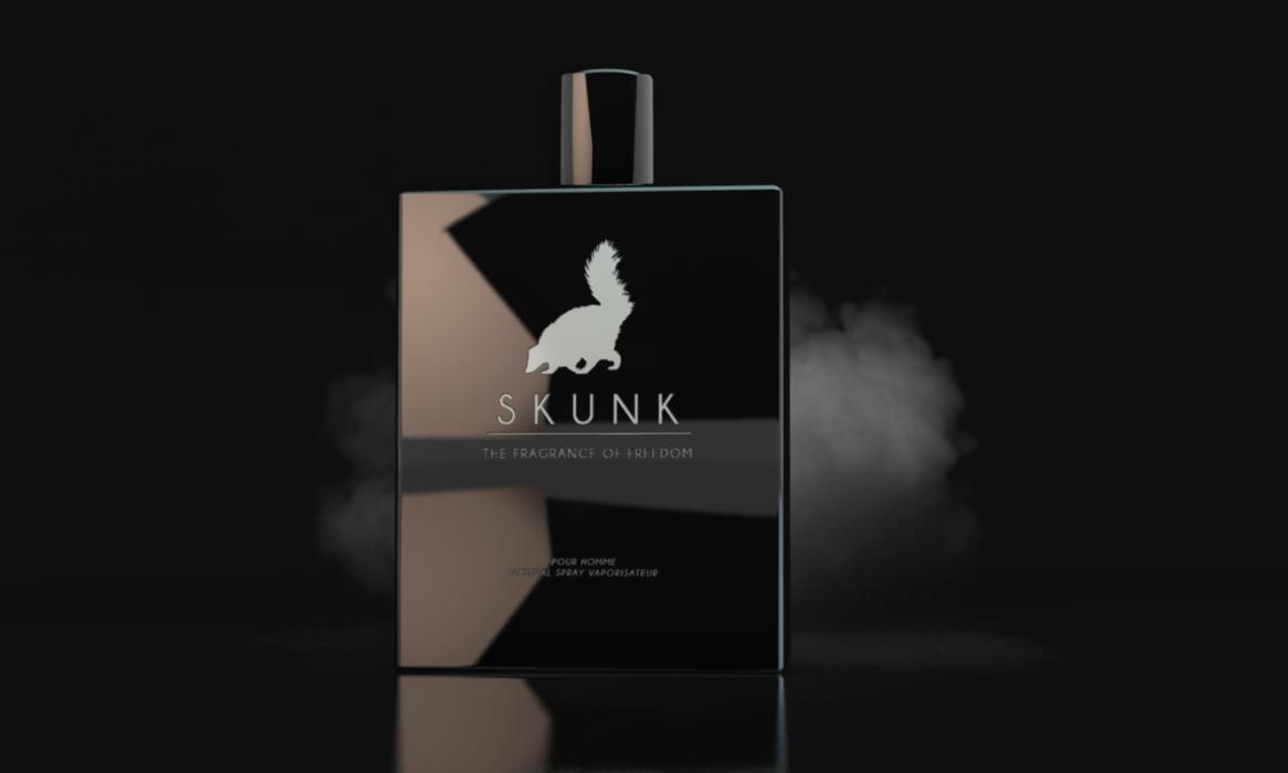 Skunk Flacon 3D